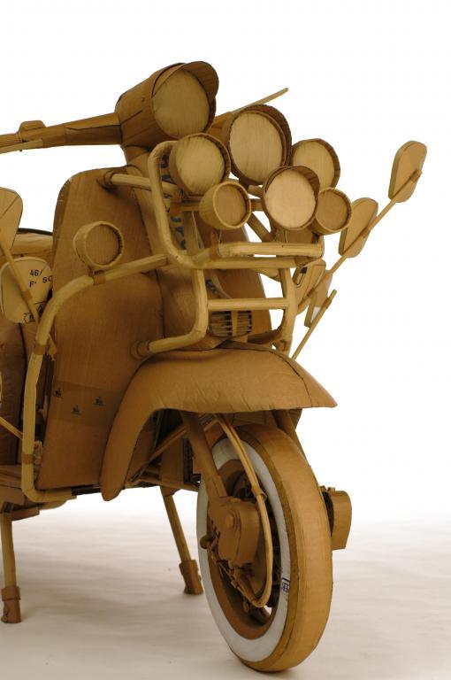 Mod Lambretta (detail)